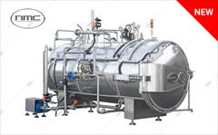 industry machinary machinary دستگاه اتوكلاو پخت افقي اتوماتیک