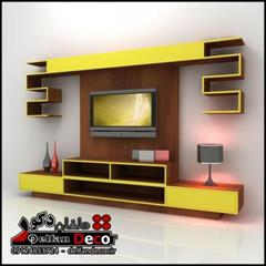 buy-sell home-kitchen decoration میز ال سی دی دیواری مدل تی T