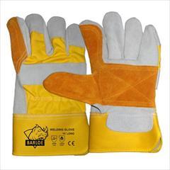 industry safety-supplies safety-supplies دستکش کف دوبل چرمی-دستکش کف دوبل تمام چرم
