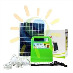 industry electronics-digital-devices electronics-digital-devices سیستم خورشیدی پرتابل 10 وات