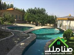 real-estate land-for-sale land-for-sale فروش باغ ویلای زیبا در محمدشهر کد1377