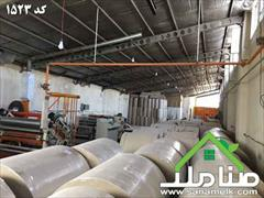 real-estate factory-stock-halls factory-stock-halls خرید و فروش کارگاه در شهریار کد 1523