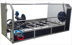 industry textile-loom textile-loom دستگاه رول بر پارچه چرم و اسپان باند