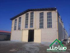 real-estate factory-stock-halls factory-stock-halls فروش سوله استاندارد در شهرک صنعتی صفادشت