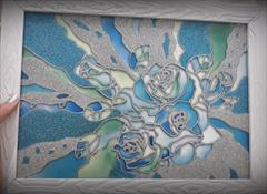 buy-sell handmade painting تابلو ویترای