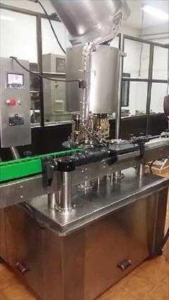 industry machinary machinary دستگاه پرکن و بسته بندی شربت دارویی
