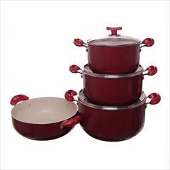 buy-sell home-kitchen dishes فروش عمده سرویس قابلمه ۷ پارچه با قیمت ارزان