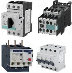 industry electronics-digital-devices electronics-digital-devices کنتاکتور، کلید اتوماتیک ، بی متال ،فیوز،رله حرارتی