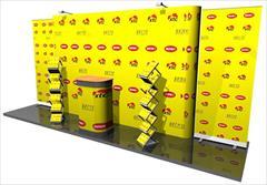 services printing-advertising printing-advertising پاپ آپ تخت مگنتی و سازه نمایشگاهی