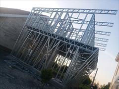services construction construction سازه ال اس اف در محمودآباد/ویلای پیش ساخته
