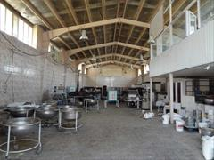 real-estate factory-stock-halls factory-stock-halls شهرک صنعتی سیمین دشت فروش کارخانه فعال کیک کد461