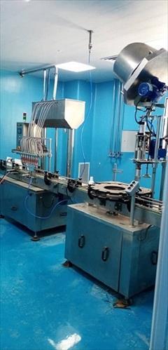 industry machinary machinary پرکن و بسته بندی مایعات دارویی