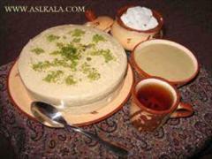 industry food food پخش سوغات یزد - حلوا - ارده و شیرینی یزدی