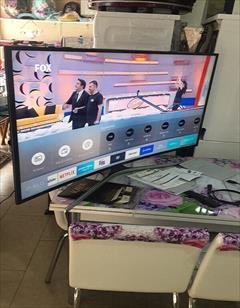 buy-sell home-kitchen video-audio تلویزیون  منحنی اسمارت سامسونگ مدل 49MU7350