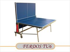buy-sell entertainment-sports sports TU6میز پینگ پنگ ام دی اف 25 میل رنگی کمجا فردوس