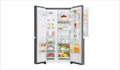buy-sell home-kitchen kitchen-appliances  یخچال ساید بای ساید ال جی مدل GC J247CKAV