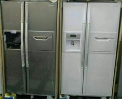 buy-sell home-kitchen kitchen-appliances  یخچال ساید بای ساید بوش مدل KAN60A40NE