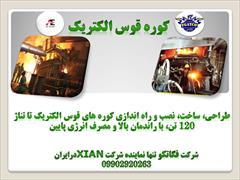 industry iron iron کوره قوس الکتریک
