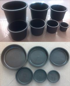 buy-sell home-kitchen garden گلدان و زیرگلدان در رنگها و اندازه های مختلف