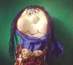 buy-sell handmade statue عروسک کاغذی