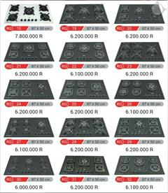 buy-sell home-kitchen cooking-appliances گاز توکار ارزان