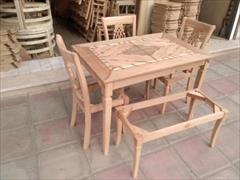 buy-sell home-kitchen table-chairs ساخت و تویلد و پخش میز و صندلی خام