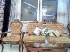 buy-sell home-kitchen furniture-bedroom فروش مبل استیل 9 نفره و میز ناهار خوری 6 نفره
