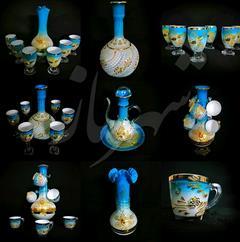 buy-sell handmade pottery فروش صنایع دستی (شیشه ای) شهرناز