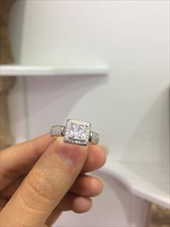 buy-sell personal watches-jewelry انگشتر نقره طرح جواهر زیورآلات الماسین