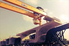 industry machinary machinary جرثقیل سقفی و دروازه ای کیان