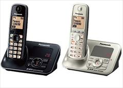digital-appliances fax-phone fax-phone گوشی تلفن بیسیم  پاناسونیک مدل KX-TG3711 / 3721