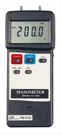 industry industrial-automation industrial-automation دستگاه مانومتر دیجیتال لوترون مدل PM-9102
