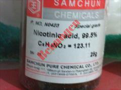 industry chemical chemical اسید نیکوتینیک -Nicotinic acid