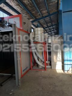 industry industrial-machinery industrial-machinery فروش کوره پخت رنگ تفلون 2 درب