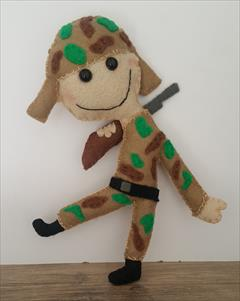 buy-sell handmade home-decoration عروسک سرباز