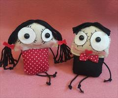buy-sell handmade home-decoration عروسک تزئینی خنگول