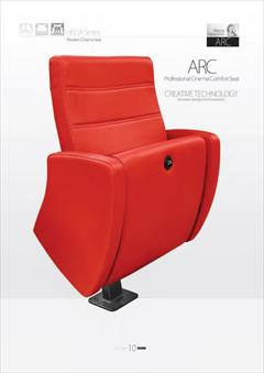 buy-sell office-supplies chairs-furniture صندلی سینمایی مدل ARC ،گروه صنعتی رض کو