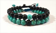 buy-sell handmade jewelry فروش دسیبندهای سنگی دست ساز