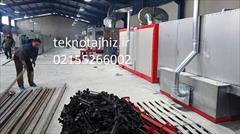 industry industrial-machinery industrial-machinery کوره های پخت تفلون ساخت تکنو تجهیز