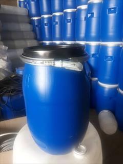industry packaging-printing-advertising packaging-printing-advertising بشکه 30 لیتری با طوق فلزی