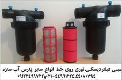 industry water-wastewater water-wastewater فیلتردیسکی و توری روی خط