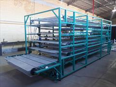 industry industrial-machinery industrial-machinery خشک کن موادغذایی وشانه تخم مرغ بصورت طبقاتي