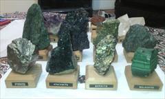 buy-sell antiques collection سری ویترینی کانیهای معدنی معروف و قیمتی
