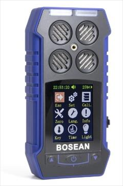 industry safety-supplies safety-supplies دستگاه دتکتور گاز پرتابل مدل BH-4S گازسنج BOSEAN