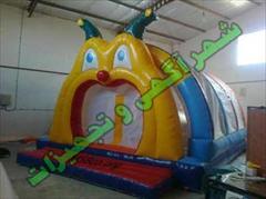 buy-sell entertainment-sports toy استخر توپ بادی مرد عنکبوتی با خروجی سرسره کد :  ST