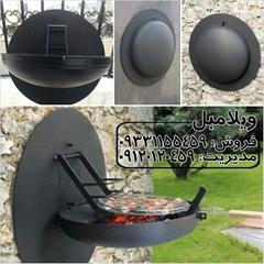 buy-sell home-kitchen kitchen-appliances باربیکیو گرد دیواری زغالی