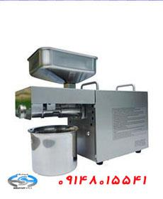 industry food food دستگاه روغن گیری و روغن کشی نیمه صنعتی استیل رومیز