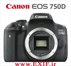 digital-appliances digital-camera camera-canon دوربین دیجیتال کانن  EOS 750D