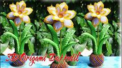 buy-sell handmade decorative-flowers اریگامی