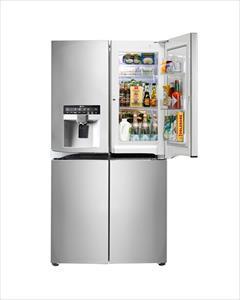 buy-sell home-kitchen kitchen-appliances یخچال فریزر ال جی نکست مدل جی264 (j264)
